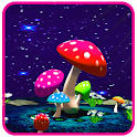 3D Mushroom Live Wallpaper Sky icon