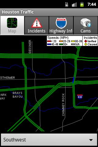 Houston Traffic- screenshot