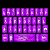 Girly Purple Keyboard Skin