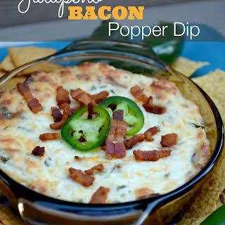 Bacon Jalapeno Popper Dip.