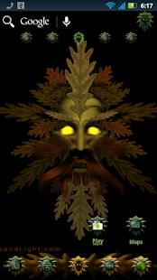 Green Man Theme screenshot