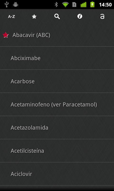 Medicamentos de A a Z- screenshot