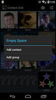 Screenshot of ContactGrid