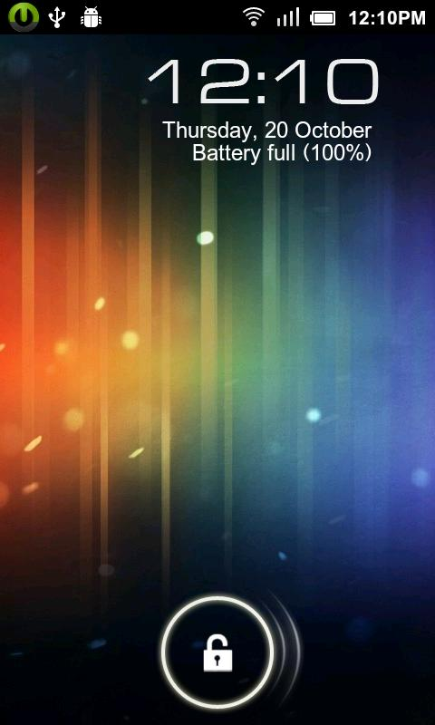 Android4 Pro- MagicLockerTheme - screenshot