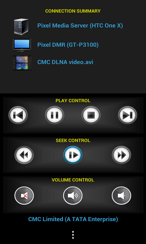 Pixel Media Controller - mDLNA - screenshot