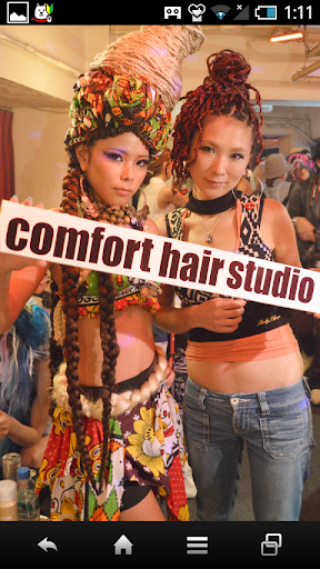 BLack hair Comfort hair studio