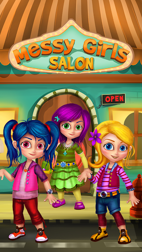 Messy Girl Salon - Fun Game
