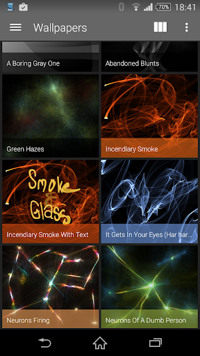 Smoke Glass Icon Pack