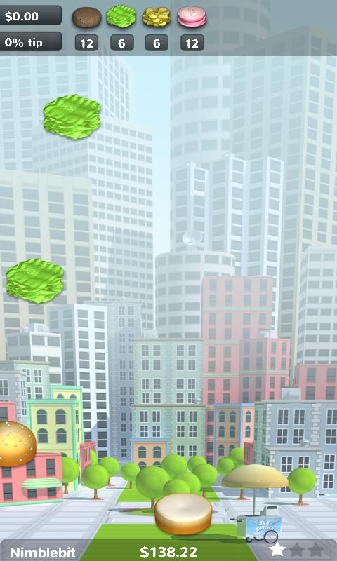 Sky Burger - screenshot