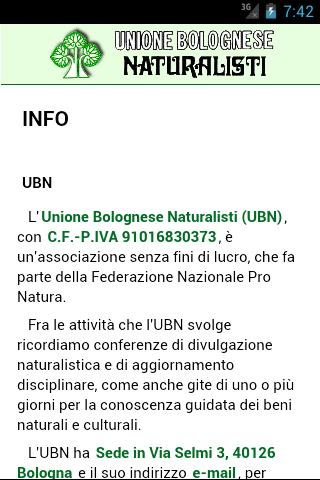 Naturalisti UBN- screenshot