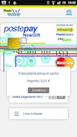 Screenshot of PosteMobile - NFC