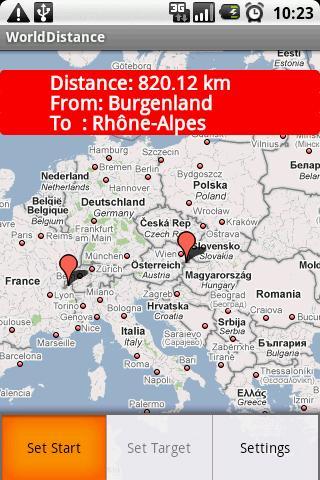 World Distance- screenshot