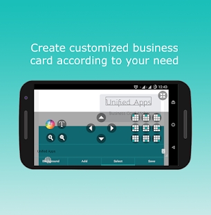 Business card maker apps on google play screenshot image reheart Images