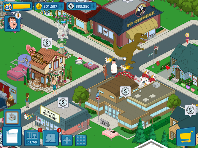 Family Guy The Quest for Stuff Mod Apk v1.7.9 (Free Shopping)