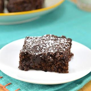 Double Chocolate Vegan Brownies.