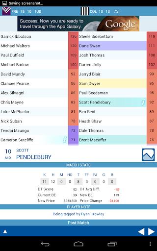 【免費運動App】Dream-Stats AFL Scores Free-APP點子