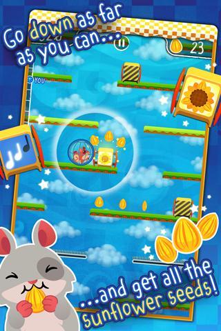 Hamster Roll - Platform Game