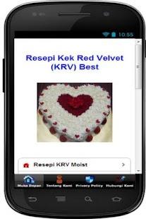 Resepi Kek Red Velvet Best - náhled