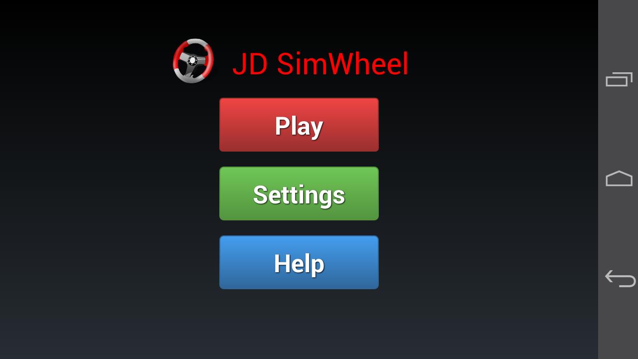 JD SimWheel (Steering wheel) - screenshot