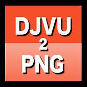 DJVU to PNG Converter