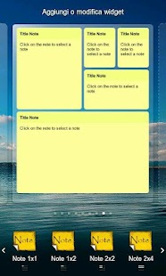 Simple Note Widget Pro - screenshot thumbnail
