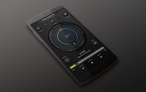 WNBE Zooper Widget Skin 1 0 APK for Android