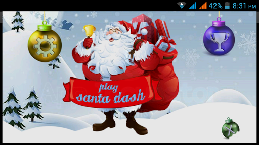 Super Santa Dash-Free XmasGame