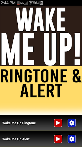 Wake Me Up Ringtone