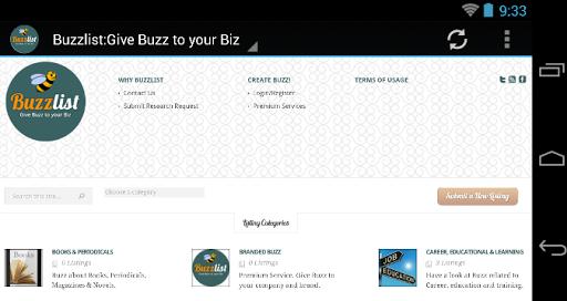 Buzzlist:Give Buzz to your Biz