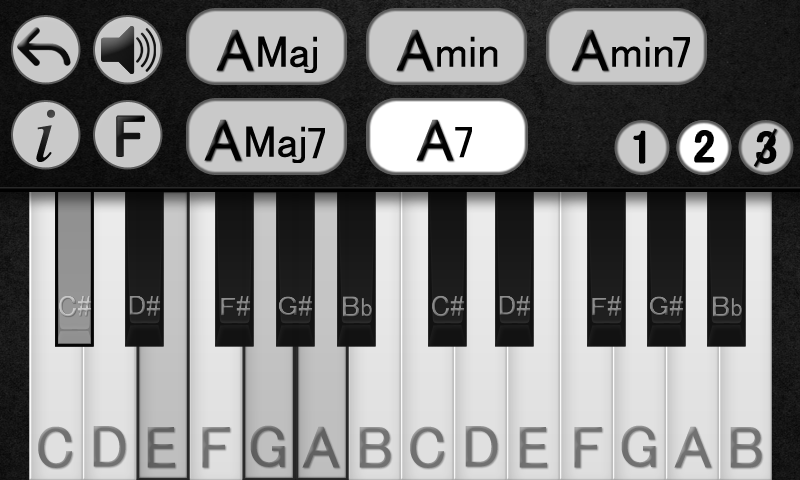 Piano piano keys and chords : Learn Piano Chords - Android Apps on Google Play