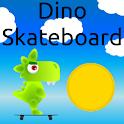 Dino Skateboard icon