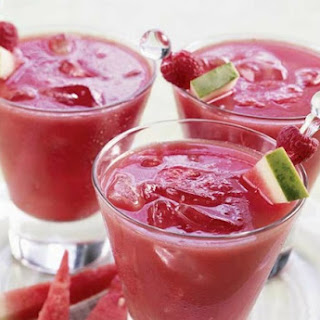 Watermelon Raspberry Lemonade.