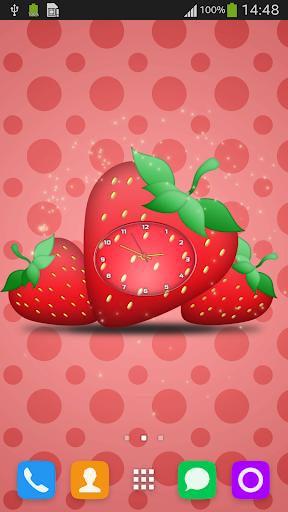 Strawberry Clock LWP