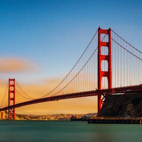 Golden Gate by Jun Robato - Buildings & Architecture Bridges & Suspended Structures ( california, golden gate, bridges, san francisco, structures )