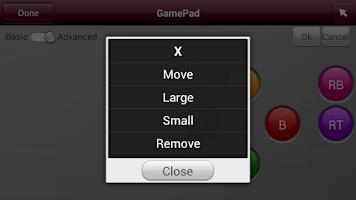 Screenshot of LG TV Gamepad 2013
