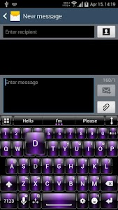 Theme for A.I.type Dusk Purp v1.3