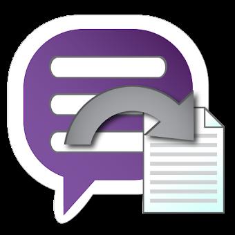 Backup Text for Viber