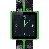 Green Nano Wrist Watch Clock