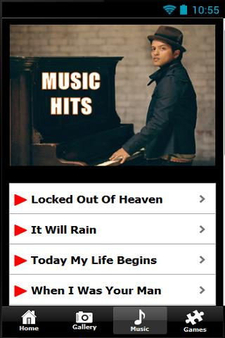 Bruno Mars Pictures And Songs - screenshot