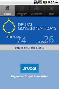 Drupal Government Day - screenshot thumbnail