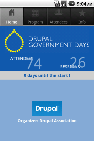Drupal Government Day - screenshot