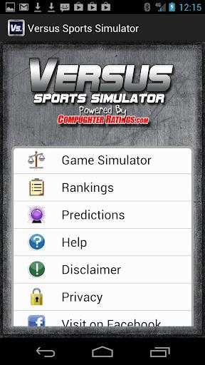 Versus Sports Simulator  screenshots 1