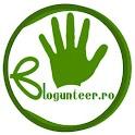 Blogunteer.ro logo