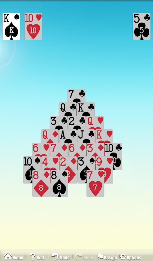 Astraware Solitaire - screenshot