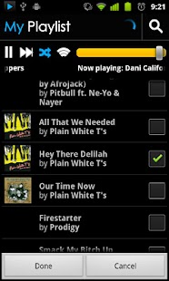 BluePlaylist Music Player - screenshot thumbnail
