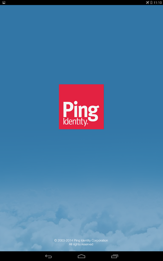 PingOne®- screenshot