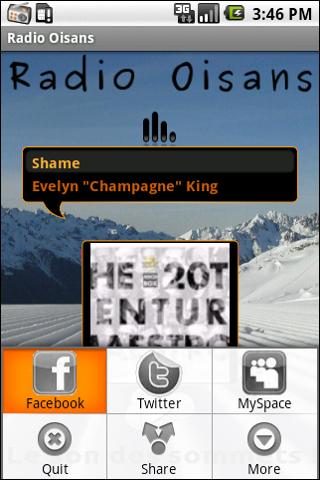 Radio Oisans - screenshot