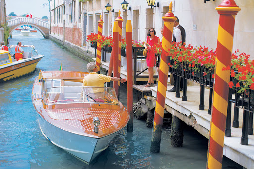 "Venice-canal-boat - Tere Moana takes you to romantic Venice, the ""City of Canals."""
