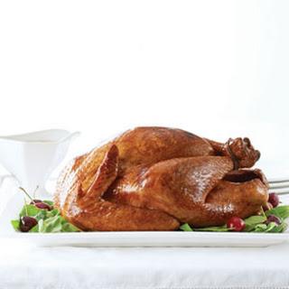 Apple-Sage Brined Turkey.