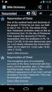 The Bible Dictionary - screenshot thumbnail